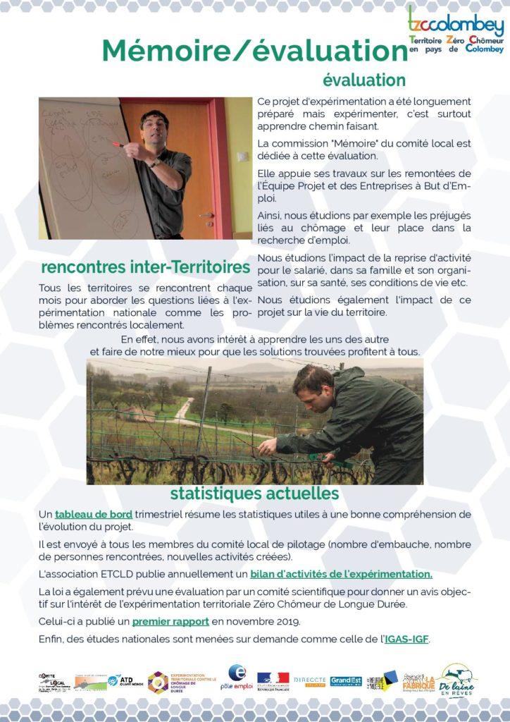 fiche Mémoire - évaluation